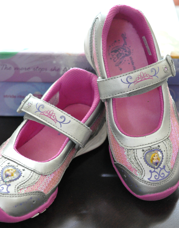 stride rite disney princess shoes