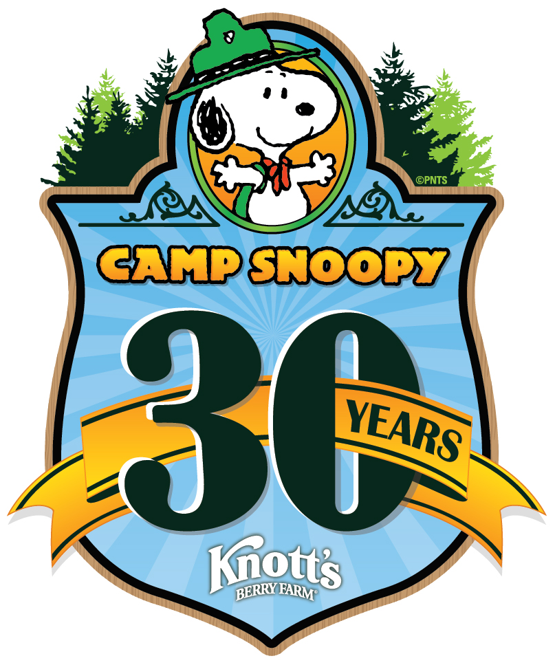 Camp Snoopy 30th Anniversary Logo (1)