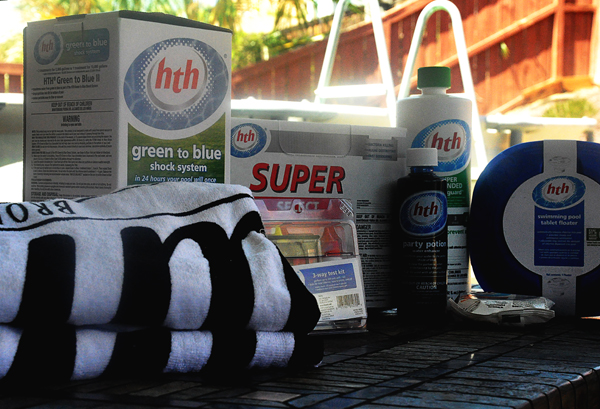 HTH Pool Products shock test