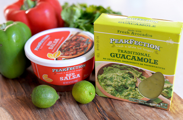 PeakFection Traditional Guacamole Red Salsa (2)