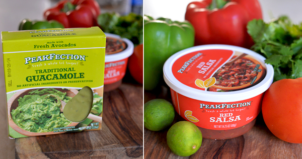 PeakFection Traditional Guacamole Red Salsa (3)