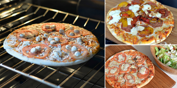 Fresh & Easy Take & Bake Pizza (6)