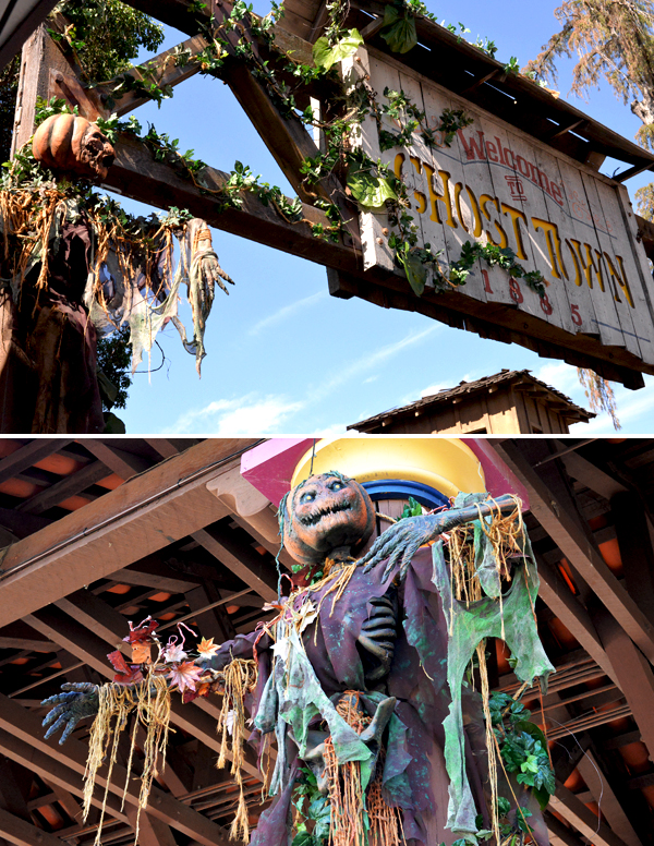 Knotts Scary Farm Ghost Town Scary Pumpkins