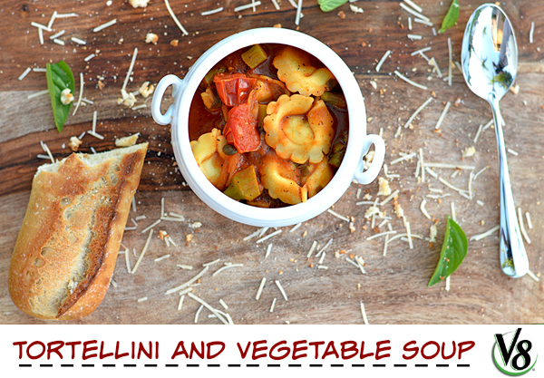 V8 Vegetable Tortellini Soup