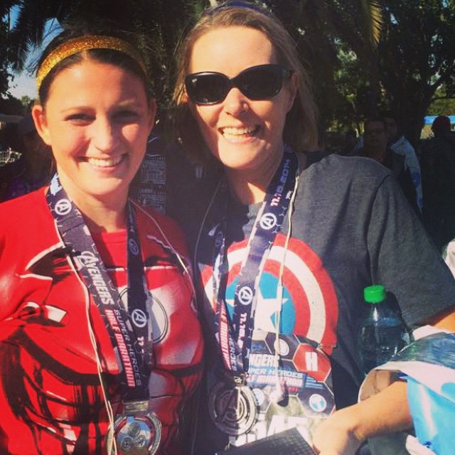 avengers half marathon weekend