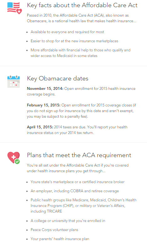 ACA Obamacare Laws Rules