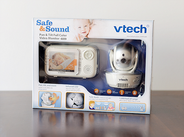 vtech pan tilt video monitor VM333
