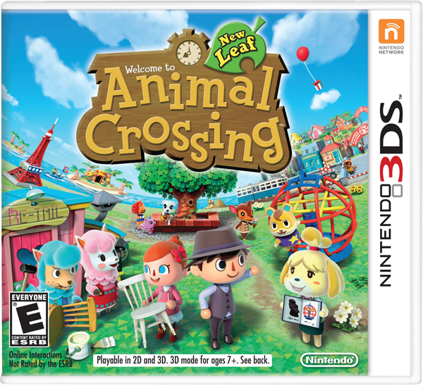 Animal Crossing - New Leaf Game Cover