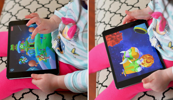 Disney Imagicademy Mickeys Math app toddler playing (3)