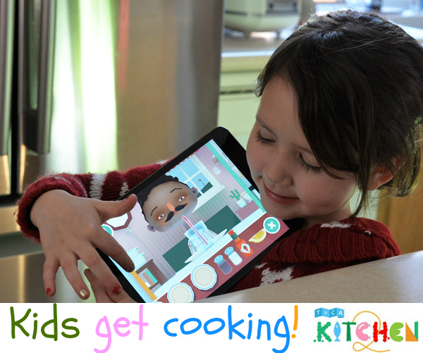 Toca Boca Cooking Recipe App iPad iPhone SMartphone