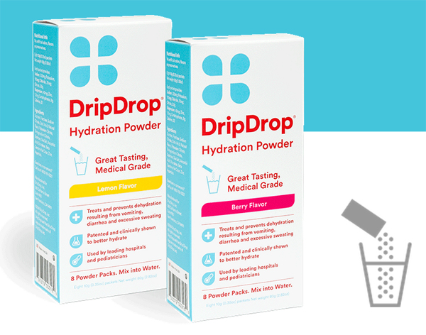 dripdrop electrolyte powder