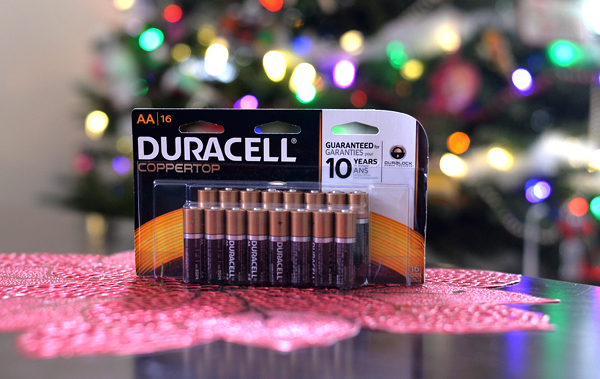 duracell batteries (2)
