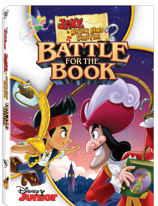 DisneyJakeAndTheNeverLandPiratesBattleForTheBookDVD