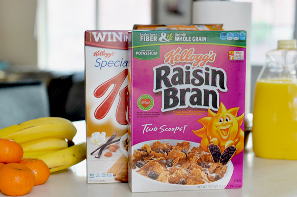 Kelloggs Raisin Bran SpecialK