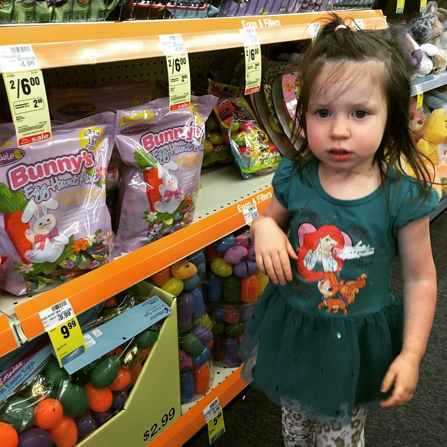 shopping for easter