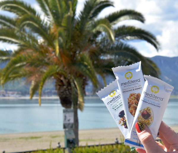 Mediterra Mediterranean Nutrition Bar Pistachio honey Cherry