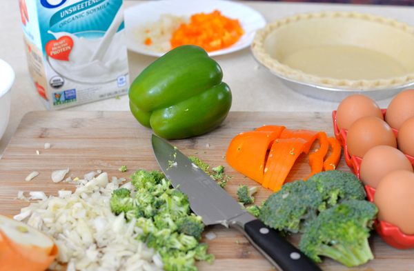 Silk Low Fat Vegetable Quiche Recipe (3)
