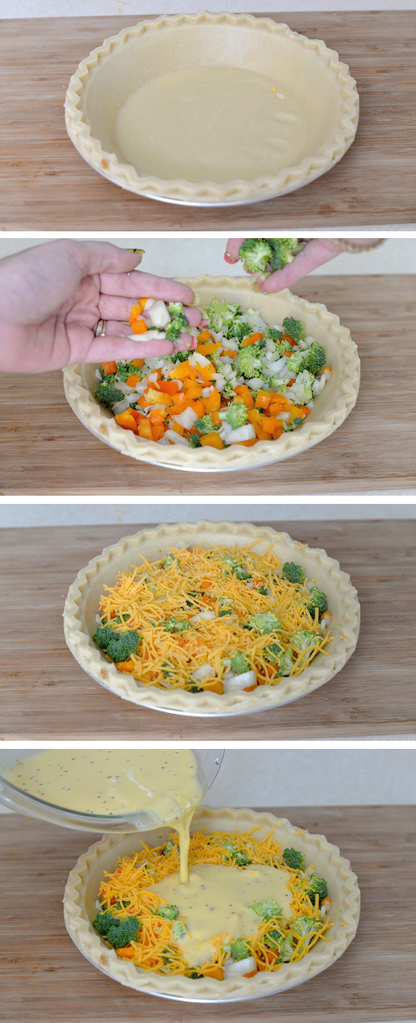 Silk Low Fat Vegetable Quiche Recipe Cooked Prepared