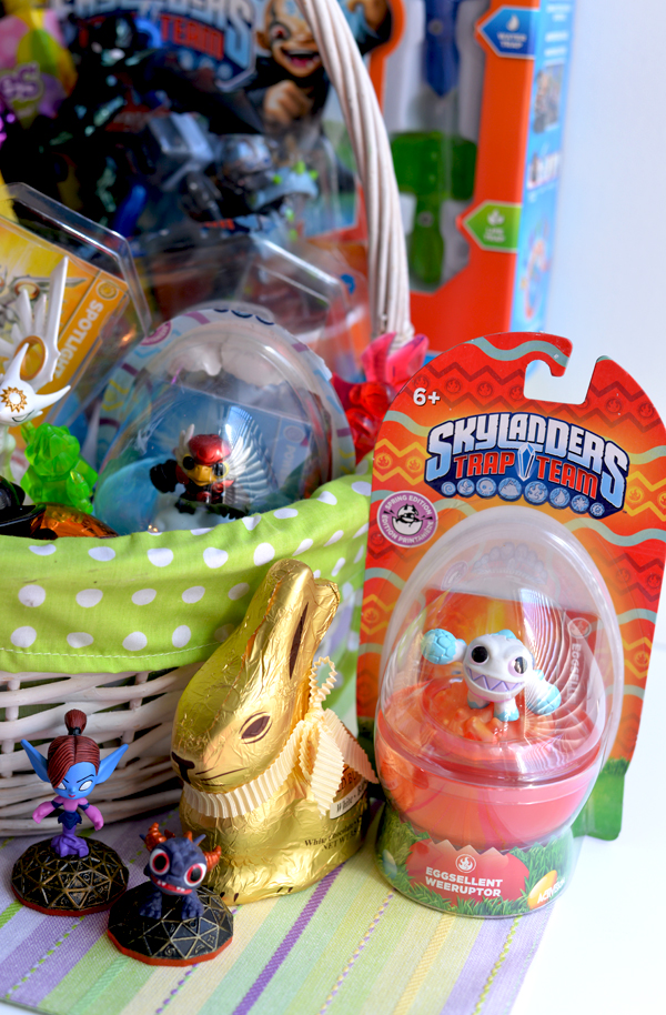 Skylanders Fan Trap Team Easter Basket Idea (1)