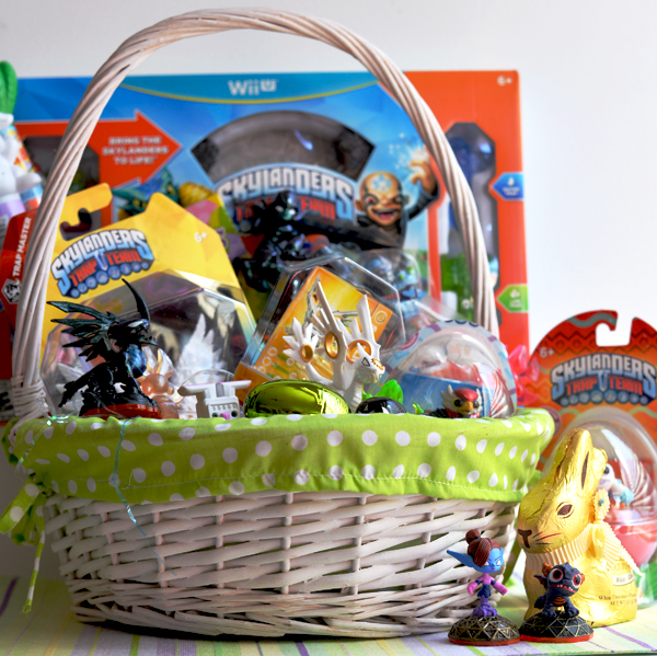 Skylanders Fan Trap Team Easter Basket Idea (2)