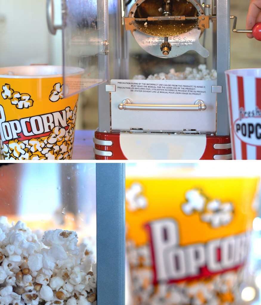 FiOS Movie Family Night Popcorn Machine