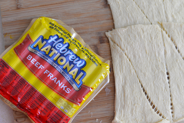 Hebrew National Beef Franks dough