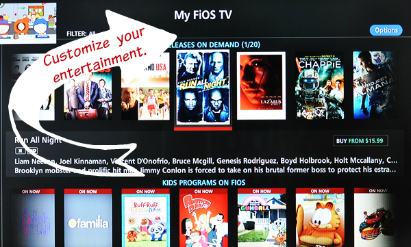 verizon fios custom tv