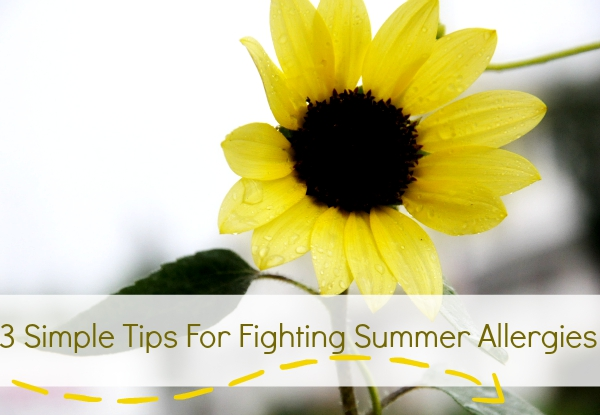 3 Simple Tips For Fighting Summer Allergies