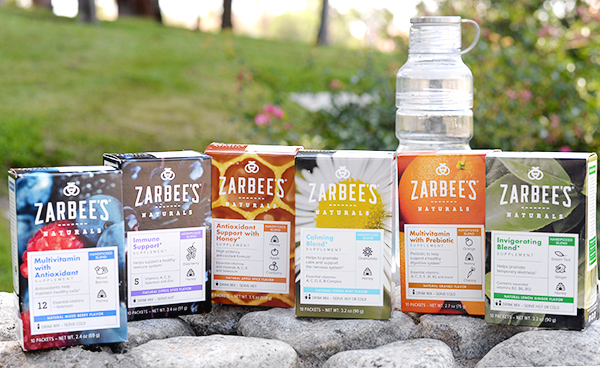 Zarbee's Naturals Multivitamin Drink Mix Serve Hot or Cold