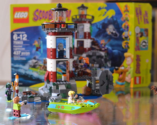 LEGO Scooby Doo Haunted Lighthouse Building Set
