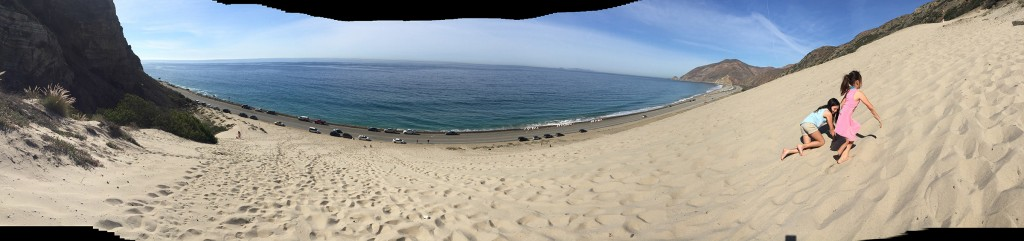 Malibu CA Giant Great Sand Dune 2