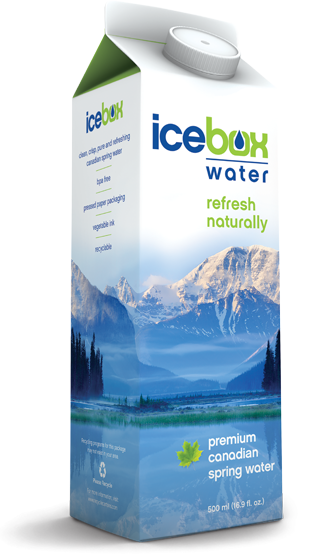 icebox box premium canadian spring water