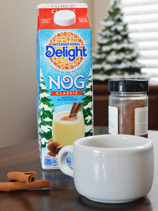 International Delight Nog cinnamon