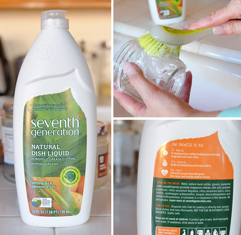 Seventh Generation natural dish liquid (2)