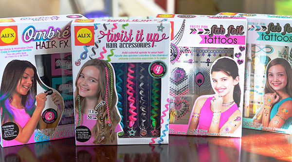Alexa Toys Hair Accessories Tattoo