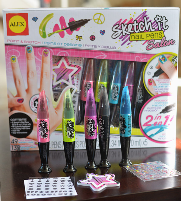 Alexa Toys Sketch It Nail Pens Salon
