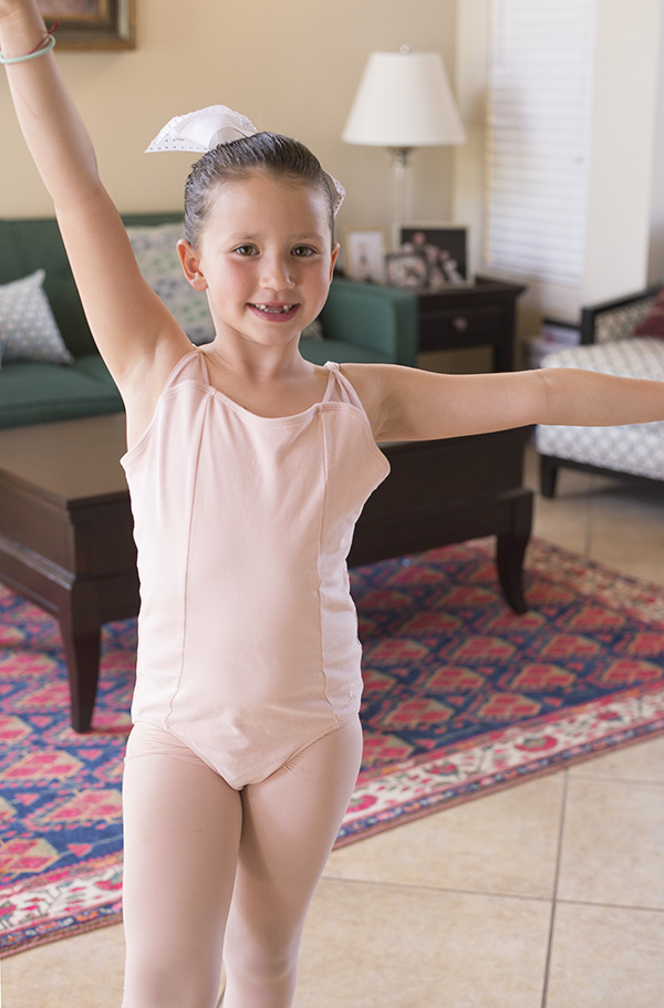 6 year old ballerina