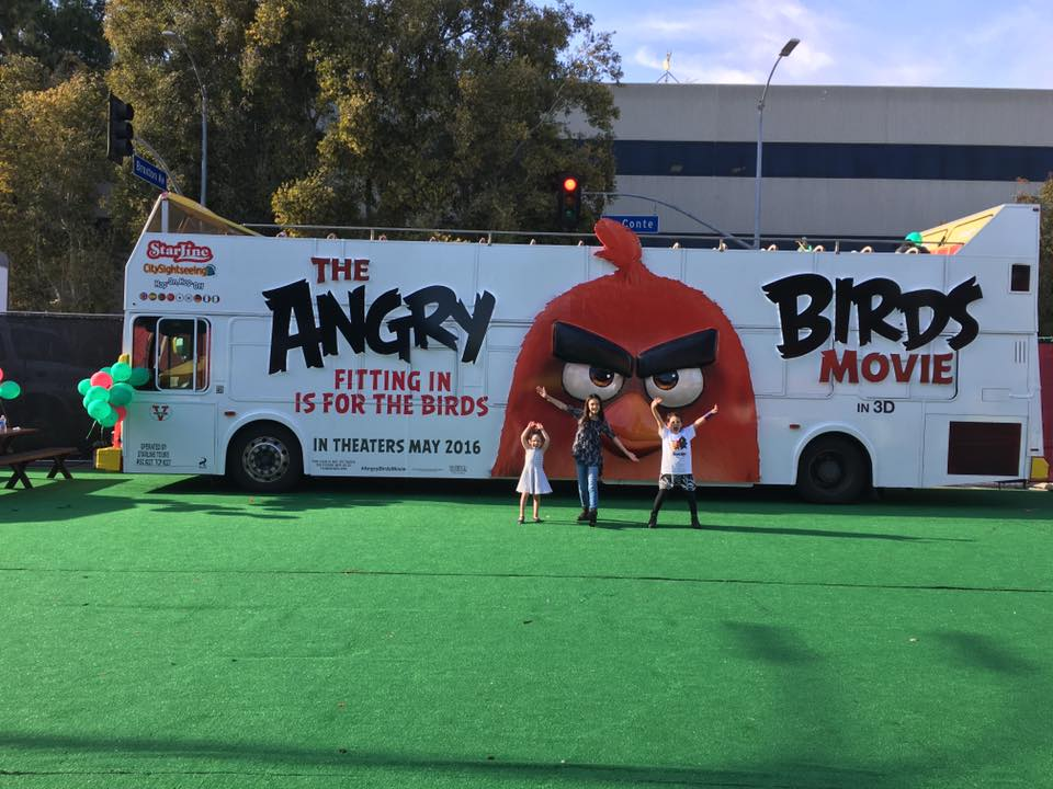angry birds movie premiere