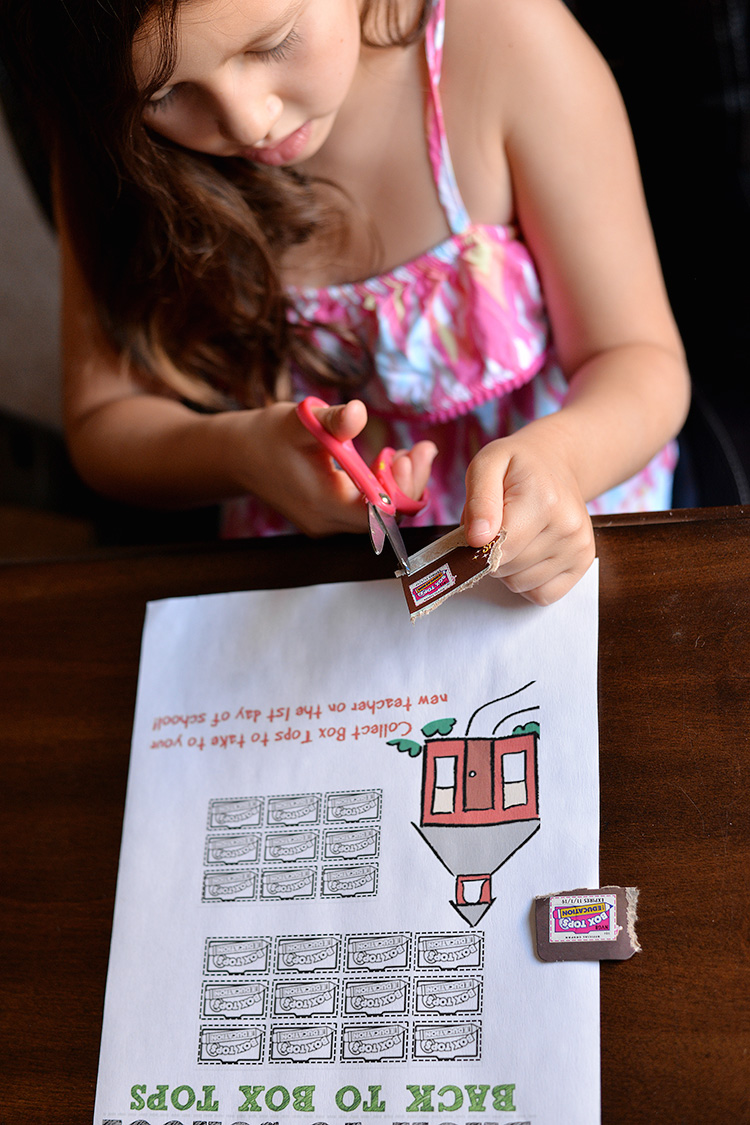 Box Tops Back To School Tracking Sheet