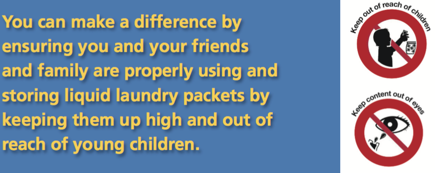 laundry safety keep reach out of kids