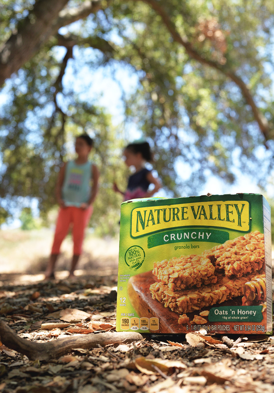 kids with nature valley