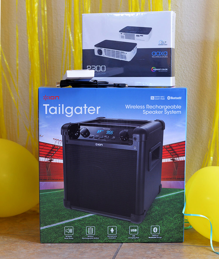 projector-and-wireless-speaker-system-perfect-outdoor-movie-night