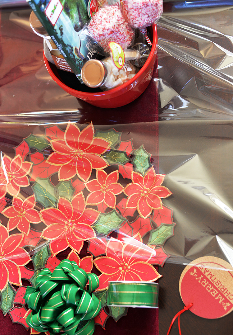 creating movie gift basket hand for others