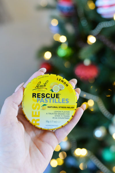 bach rescue pastilles natural stress relief homeopathic