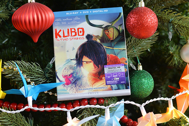 Great Gift Ideas – KUBO and The Two Springs Now on Blu-Ray!