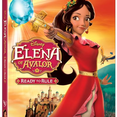 Disney's Elena of Avalor DVD: Ready to Rule DVD