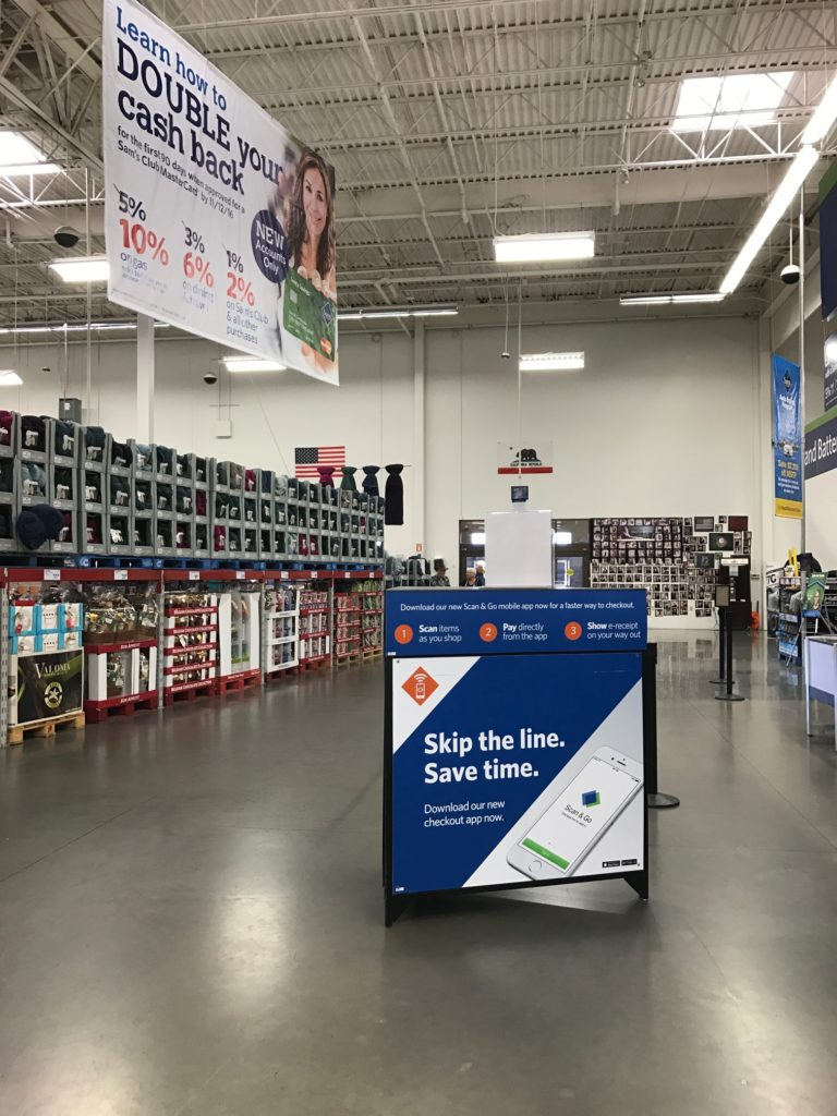 sams club scan and go app