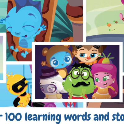 Fun With Kids On The Go With The Wonster Words App