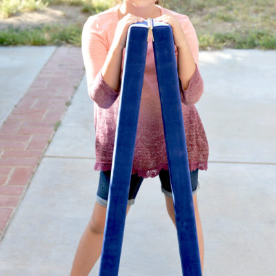Folding Kids Gymnastics Beam