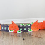 Halloween pumpkin fishing for candy craft for kids (2)